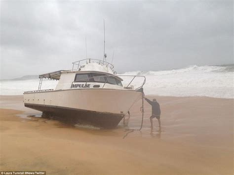 public boat r north brisbane seemorerocks austrelia s massive storm