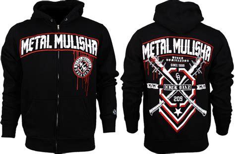 Hoodie Metal Mulisha Fightmerch metal mulisha nick diaz ufc 158 hoodie