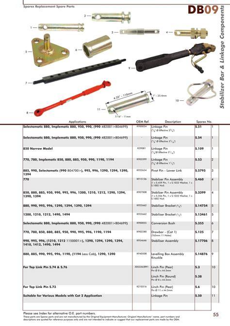 david brown 885 wiring diagram david brown 885 parts list
