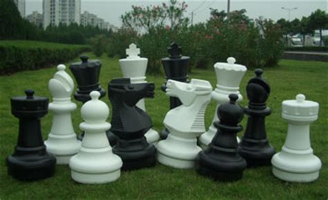 Landscape Pieces Image Gallery Outdoor Chess Set