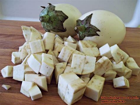 come cucinare melanzane bianche mezze maniche con melanzane bianche e gamberetti ideando