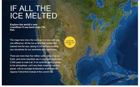 map world after glaciers melt linear population model november 2013