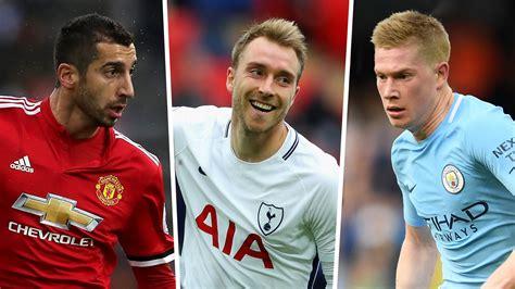 epl assists premier league most assists 2017 18 man city stars sane