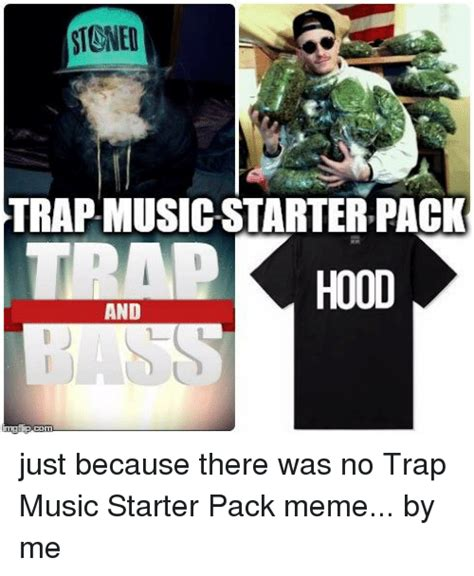Starterkit Pack stoned trap starter pack and just because there