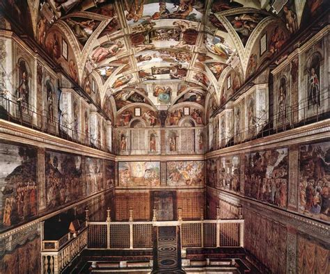 Ceiling Of The Sistine Chapel By Michelangelo by Michelangelo S Sistine Chapel Ceiling Places