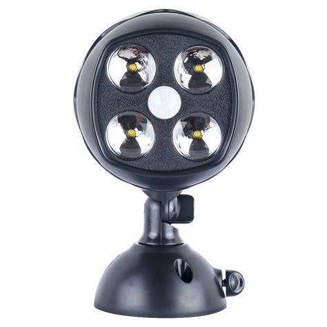 battery operated security lights motion sensor pir wall spotlight battery powered led