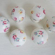 Decoupage Knobs - decoupage cath kidston drawer pulls knobs and vintage lace