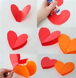 como aser corazones en las uas guirnalda de papel de colores manualidades para cumplea 241 os