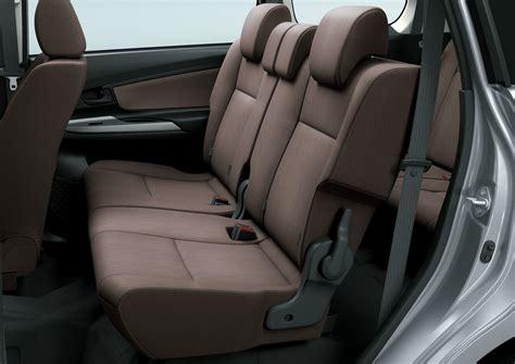 Wiper Belakang Mobil Avanza Asli 2015 toyota grand new avanza 2nd row of seats press image indian autos