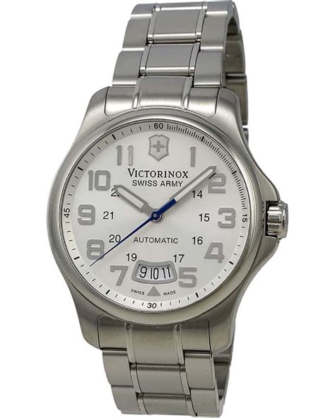 Swiss Army 1503 White Silver victorinox swiss army army officer silver s 241372 shopworn
