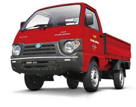 piaggio launches one tonner ape truk plus