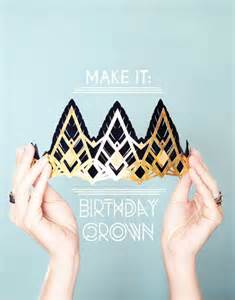 How To Make A Birthday Crown Out Of Construction Paper - make it glittering birthday crowns small for big