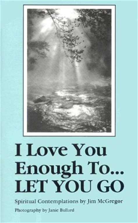 i let you go books i you enough to let you go by jim mcgregor