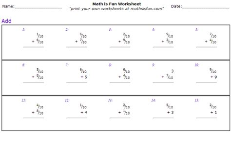 Decomposing Fractions Worksheet 4th Grade by Decomposing Fractions Worksheets 4th Grade New Calendar
