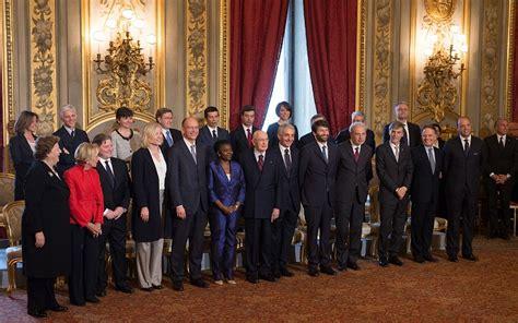 governo letta ministri il giuramento dei ministri governo letta foto foto