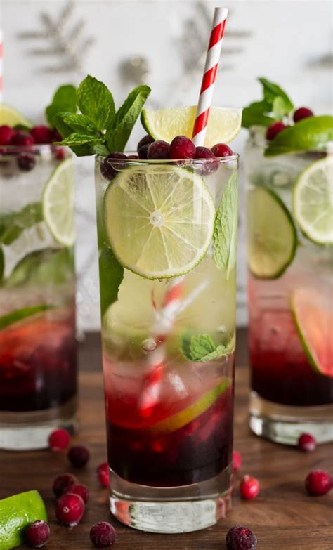 christmas cocktails cd spiced hibiscus cranberry mojito christmas pinterest