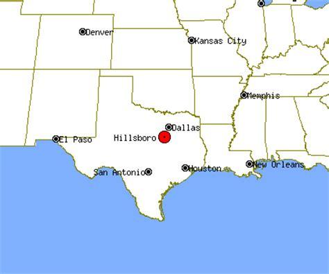 hillsboro texas map hillsboro profile hillsboro tx population crime map