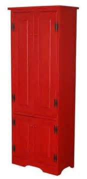 Tall Kitchen Pantry Cabinets by Tall Red Kitchen Cabinet Pantry Storage New Free Shipping