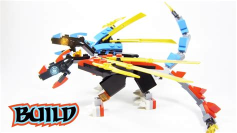 lego dragon tutorial lego mini fusion dragon build tutorial ninjago moc from