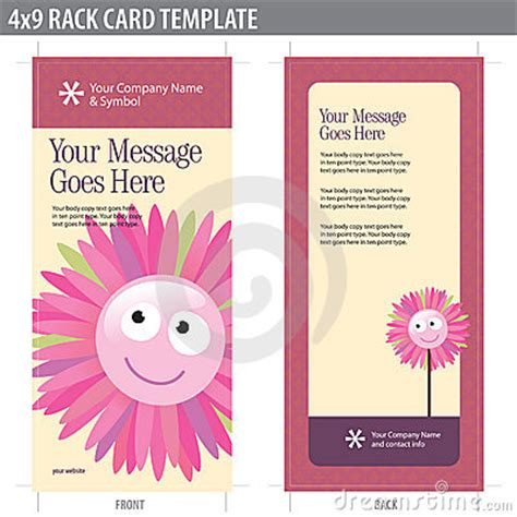 keyhole nature brochure template design id 0000008048 4x9 rack card brochure template stock images image 8937024