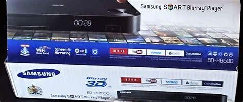 Samsung Smart Blu Ray Dvd 4k Uhd 3d Upscaling Player Unbox
