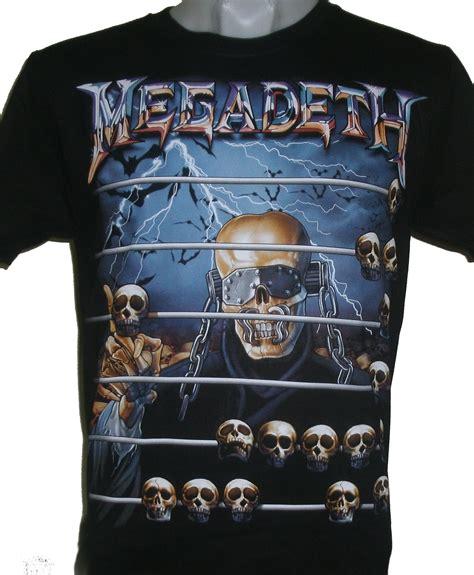 Tshirt Megadeth 5 megadeth t shirt size s roxxbkk
