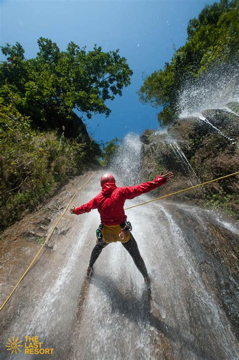 canyon swing nepal canyoning rafting overnight stay the last resort in