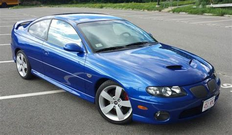 manual cars for sale 2006 pontiac gto seat position control sell used 2006 gto m6 excellent condition blue w blue interior in marblehead massachusetts