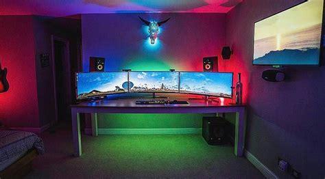 Meja Komputer Gaming 19 desain dan model meja komputer gaming lagi ngetrend 2018 dekor rumah