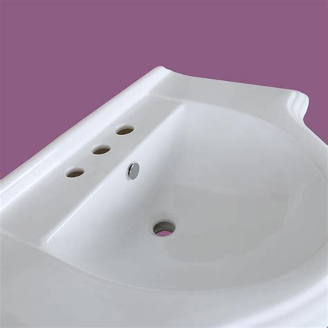 large basin bathroom sink large pedestal sink bathroom console 8 quot widespread 34 quot w
