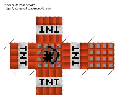 minecraft tnt block template minecraft paper template tnt yahoo image search