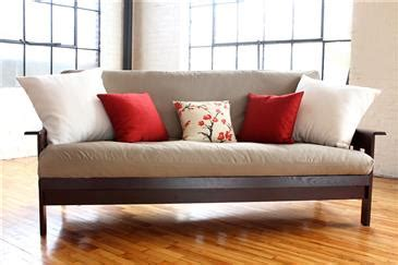 White Lotus Futon by Futon Mattress Covers Up To 6 Quot Thick Wlh A 100 Cotton