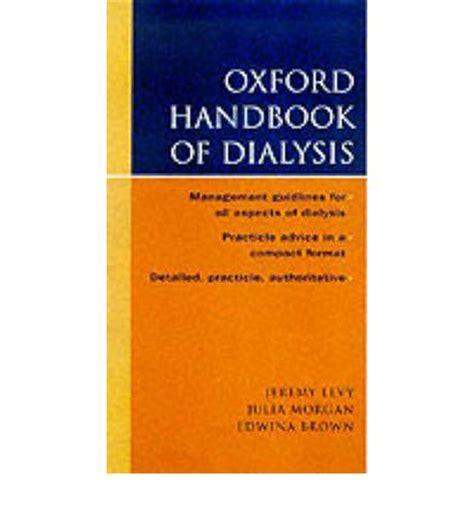 Oxford Handbook Of Ecocriticism the oxford handbook of dialysis version free