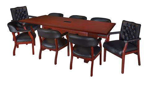 12 Or 16 Foot Rectangular Conference Table In Mahogany 12 Foot Conference Table