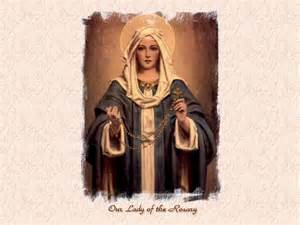our lady of the rosary become what you are