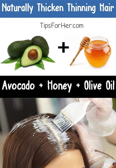 natural hair thickener recipe naturally thicken thinning hair