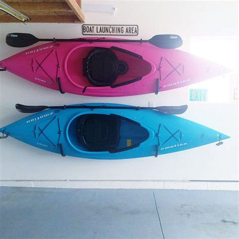 Garage Kayak Storage by Best 25 Kayak Storage Ideas Only On Canoe