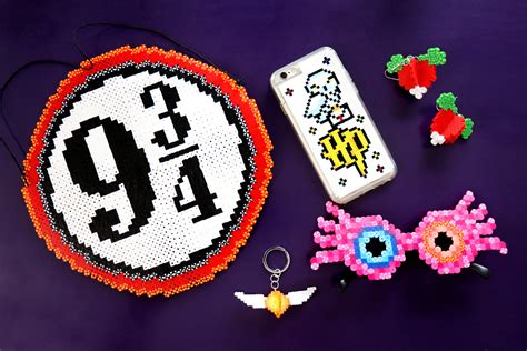 all crafts diy harry potter perler bead crafts kavett