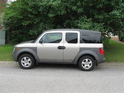 car service manuals 2003 honda element sell used 2003 honda element manual transmission silver chagne 5 speed 2 wheel drive in