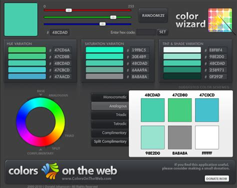 scheme generator 19 color palette generators to help you design like a pro