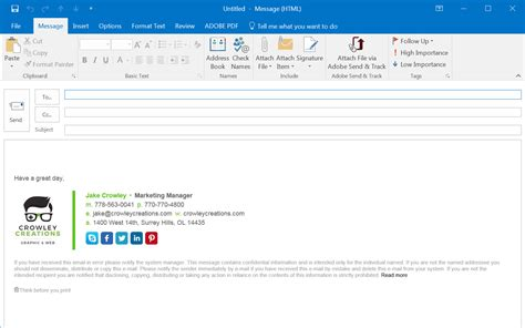 how to open an outlook template outlook signature template what do they look like create