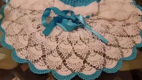 como tejer a crochet vestido para nia 12 youtube como tejer vestido en crochet para ni 241 as 2 youtube