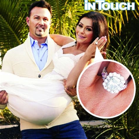 jwoww wedding ring an in touch exclusive see jwoww s engagement ring in