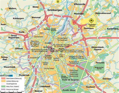 brussels map map of brussels belgium map in the atlas of the world world atlas