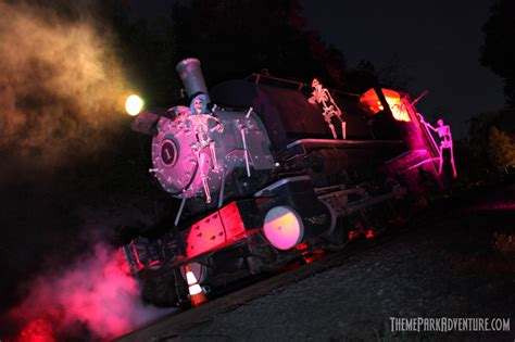 halloween themed events los angeles ghost train 2015 8402 theme park adventure