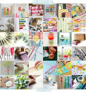 dirtbin designs things to do with washi tape