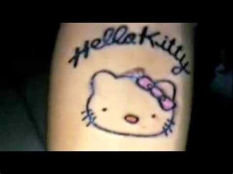 tato kartun hello kitty penganiayaan siswi tato hello kitty diduga diotaki janda