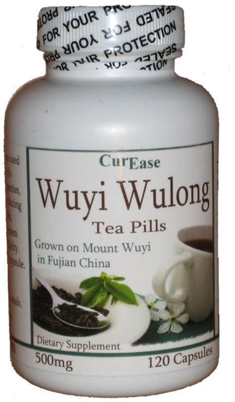 Oolong Tea Detox by Wuyi Wulong Oolong Weight Loss Tea Pills 1 Month Supply Ebay