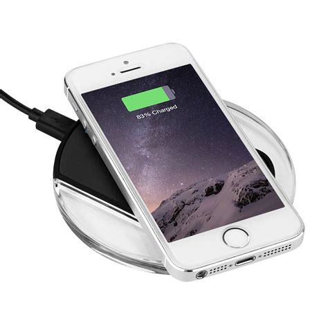 iphone charge qi wireless charger pad plate induction charging station for iphone samsung new ebay
