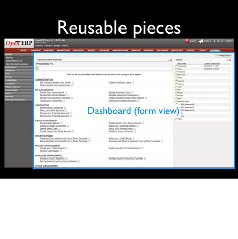 tutorial web framework openerp 6 1 web framework tutorial